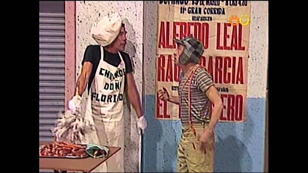 don ramon vendiendo churros