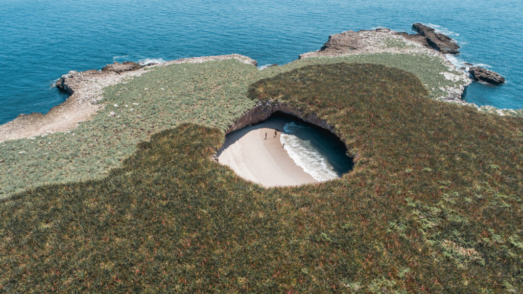 imagen playa escondida islas marietas DJI 0099