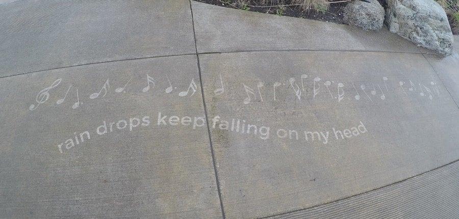 Arte callejero que se