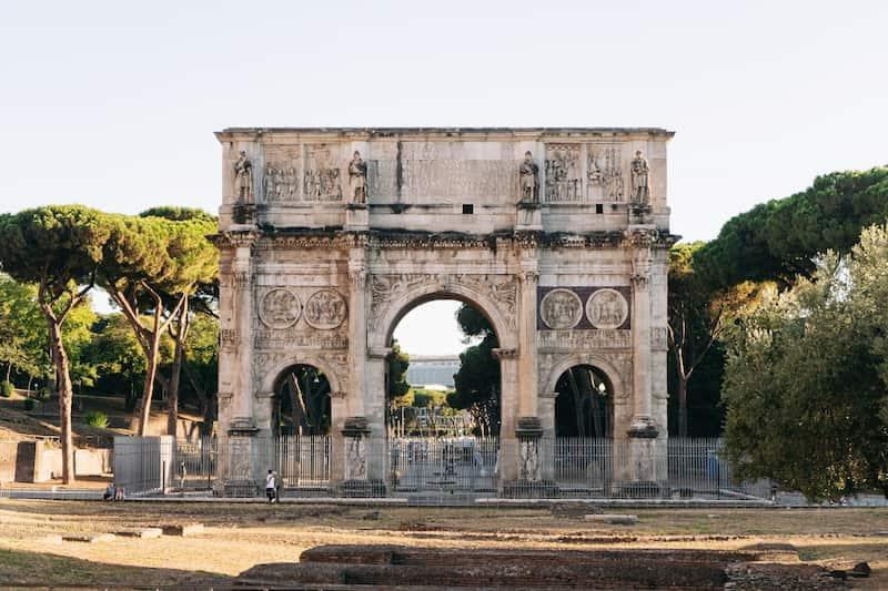 Arco De Constantino - 48 Horas En Roma