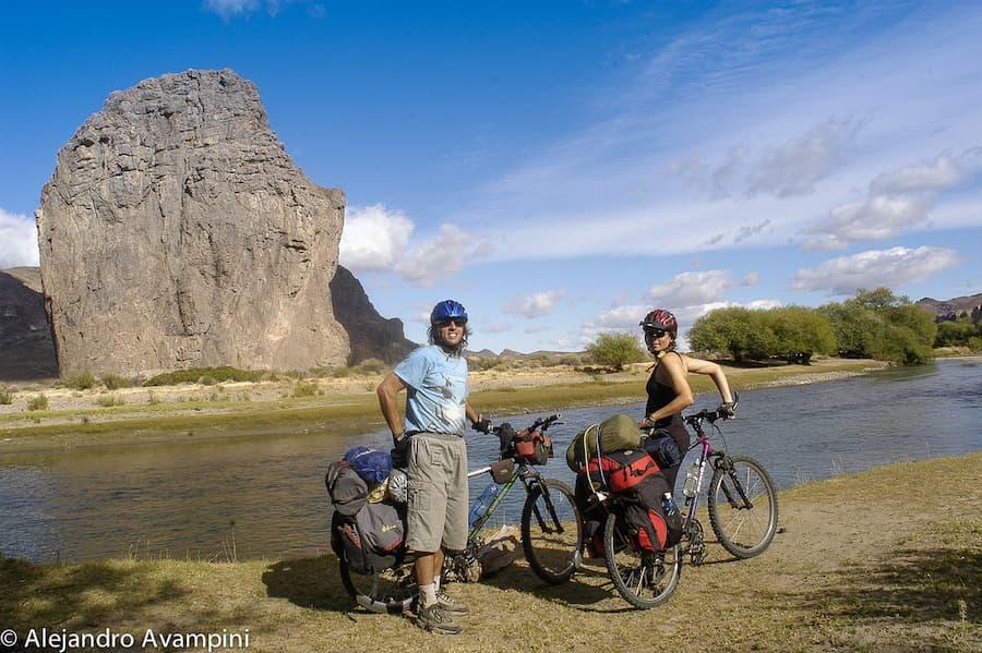 15 días en bici por el Río Chubut en la Patagonia Argentina