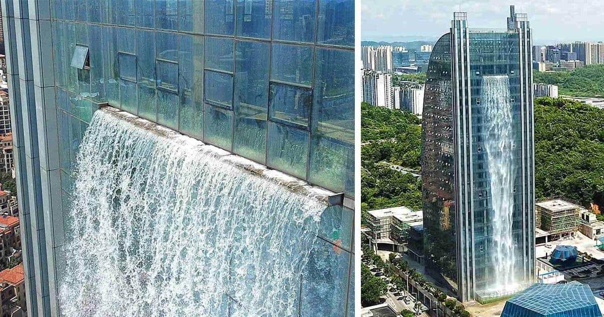 cascada artificial más alta del mundo