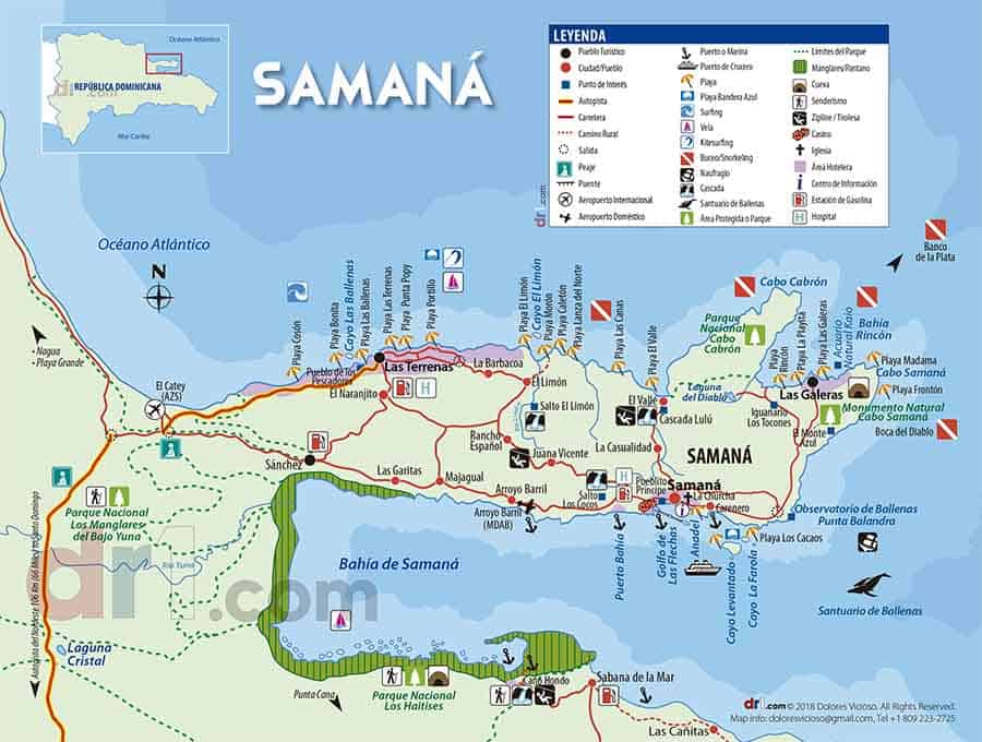 imagen Mapa Samana