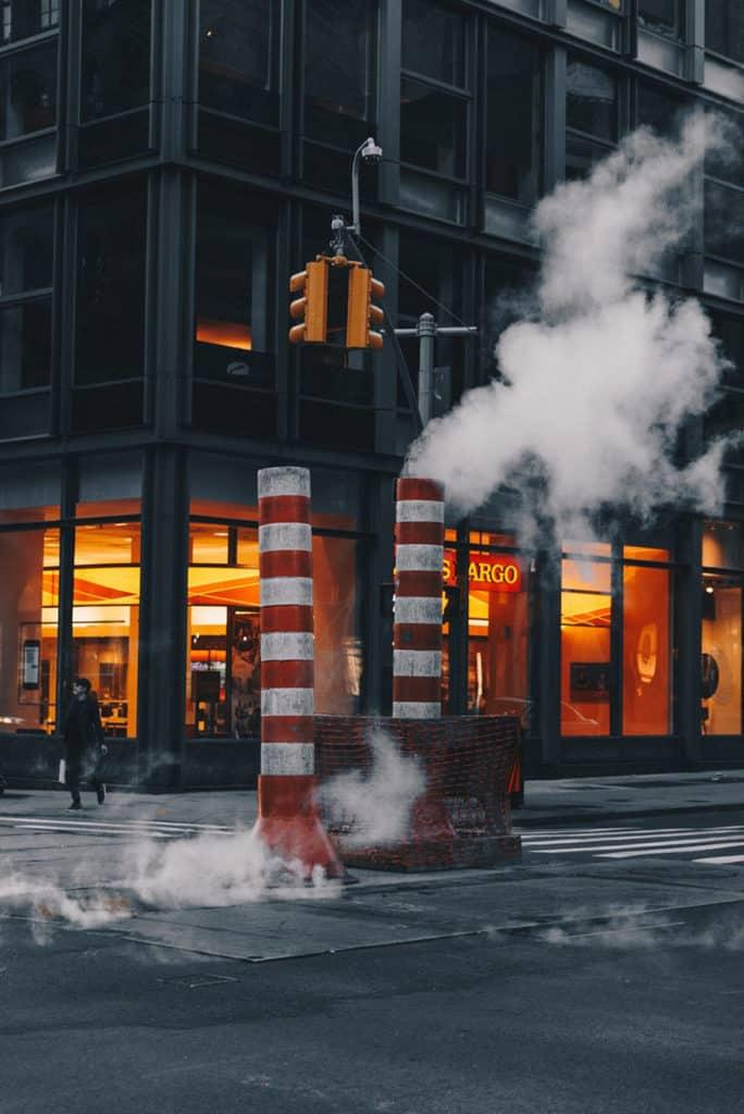 ¿Por Qué Se Ve Humo En Nueva York?