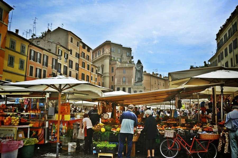 Imagen Lugares Para Conocer En Roma Mercado Fiori