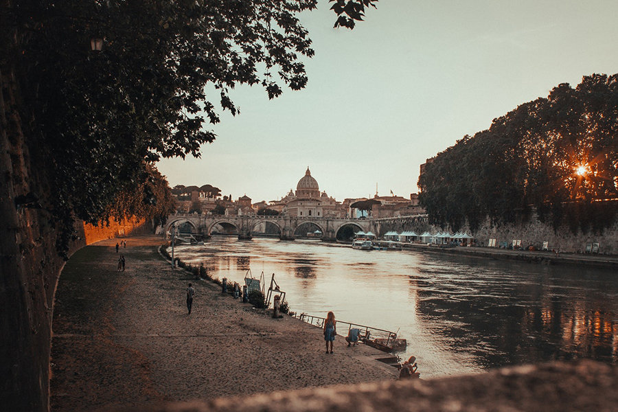 Imagen Lugares Para Conocer En Roma San Pedro Vista