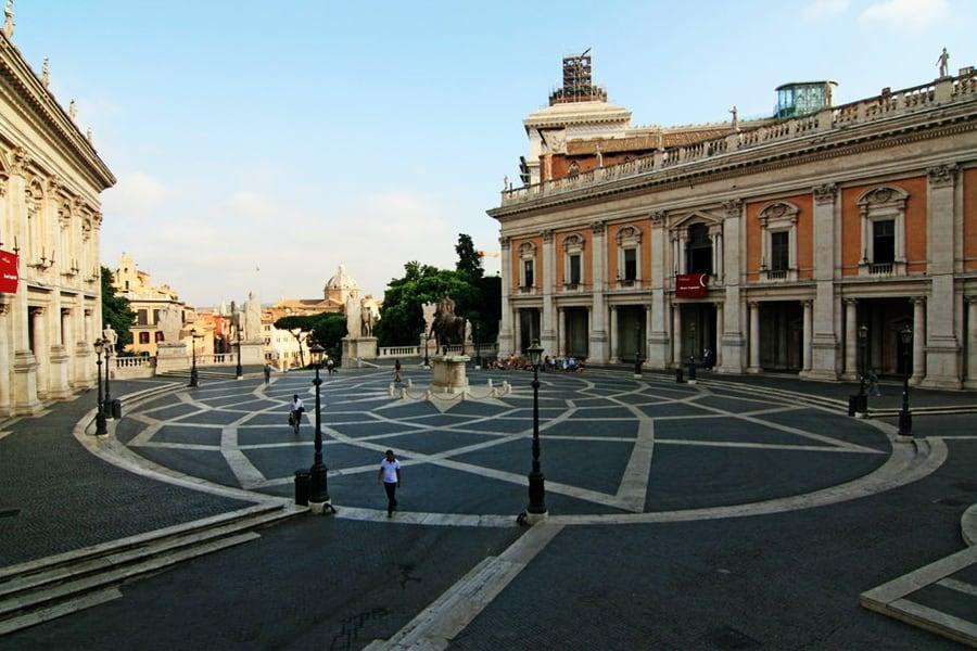 Imagen Lugares Para Conocer En Roma Piazza Di Campidoglio