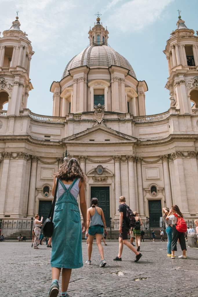 Imagen Lugares Para Conocer En Roma Piazza Navona