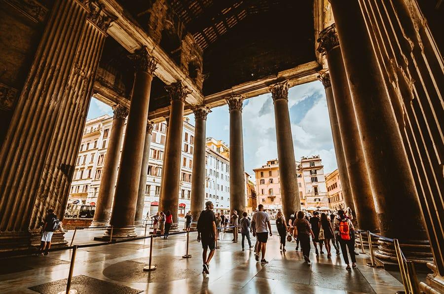 Imagen Lugares Para Conocer En Roma Pante%C3%B3N