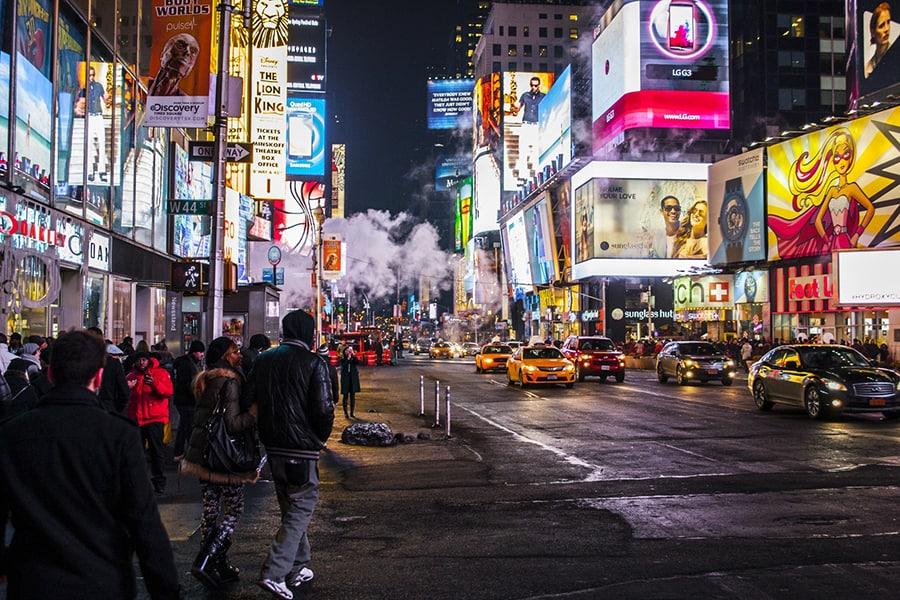 Qué Hacer En Nueva York En Invierno: Visitar Broadway