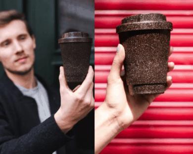 kaffeeform sobras de café molido