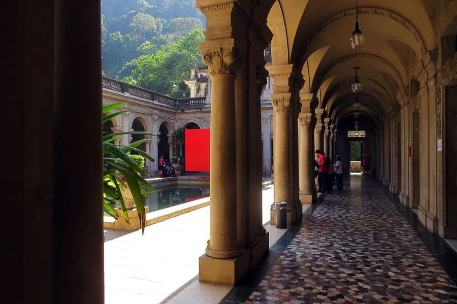 Imagen Cómo Llegar A Parque Lage Palacio Dentro 1