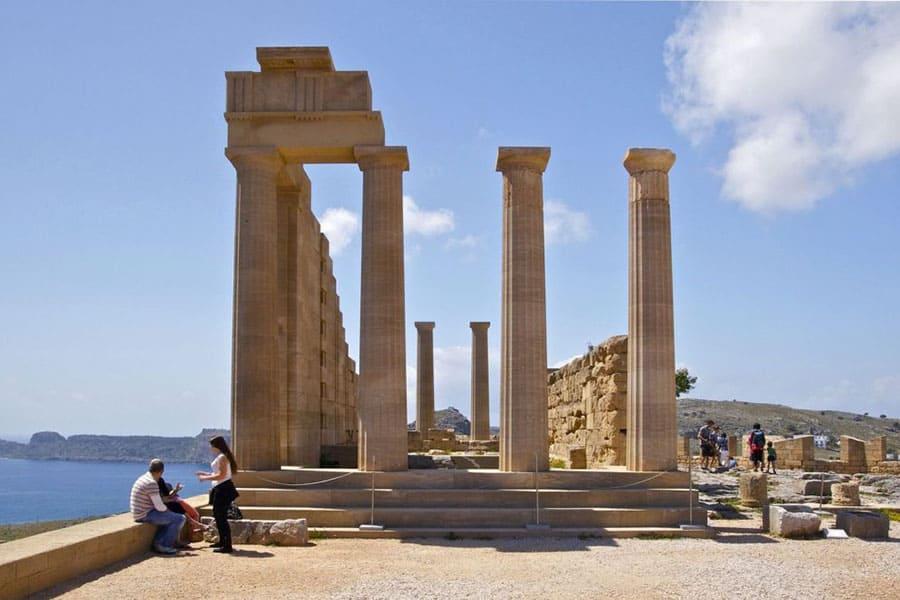Imagen Acropolis De Lindos