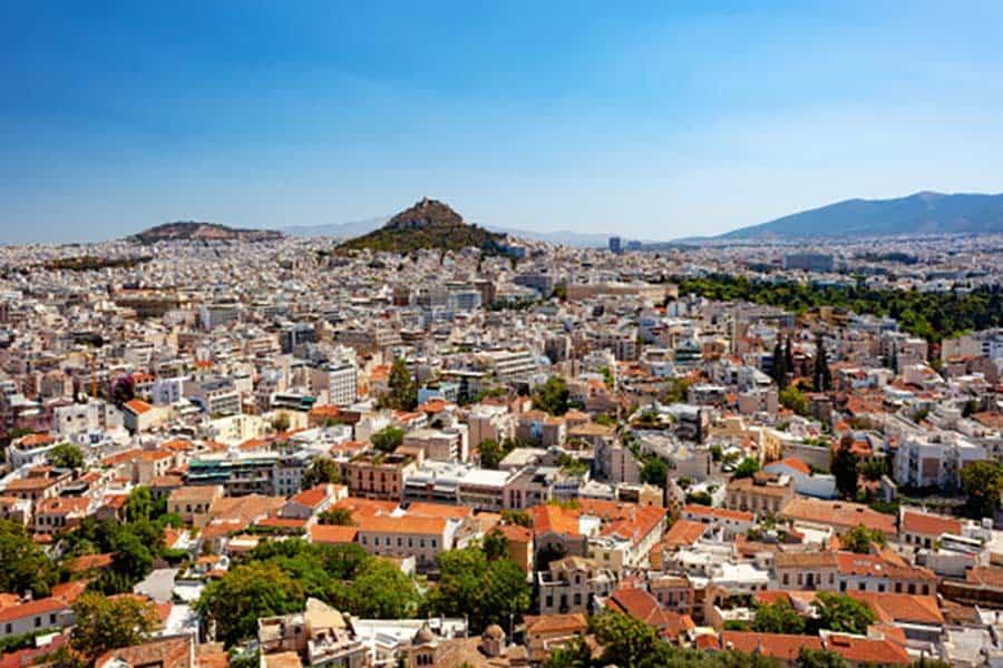 imagen pasaporte sanitario para viajar a Europa Atenas 2