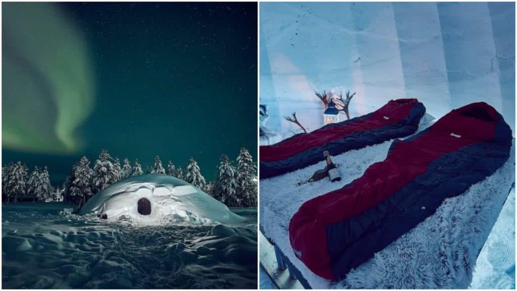 Finlandia: en este Airbnb podrás dormir en un iglú y disfrutar de las auroras boreales