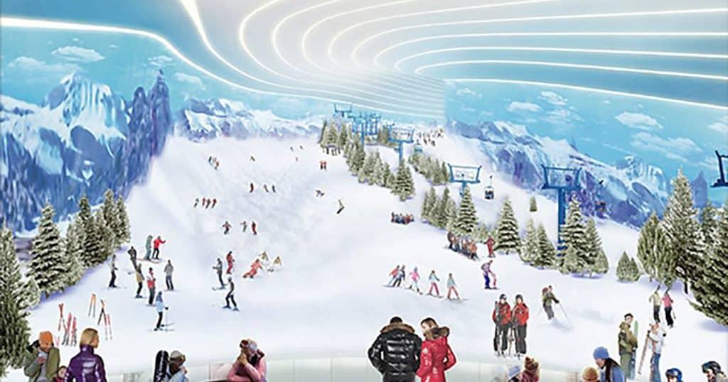 imagen American Dream ski pavilion 1
