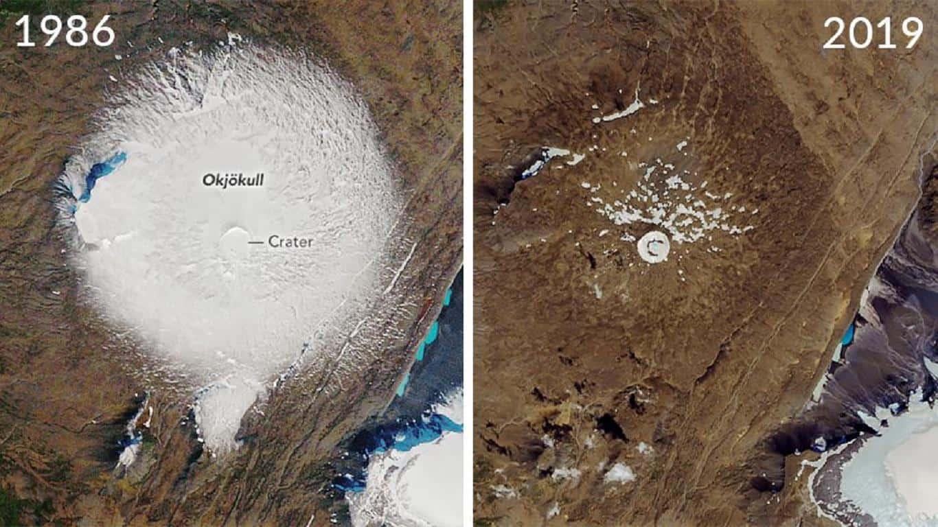 Glaciar desaparecido