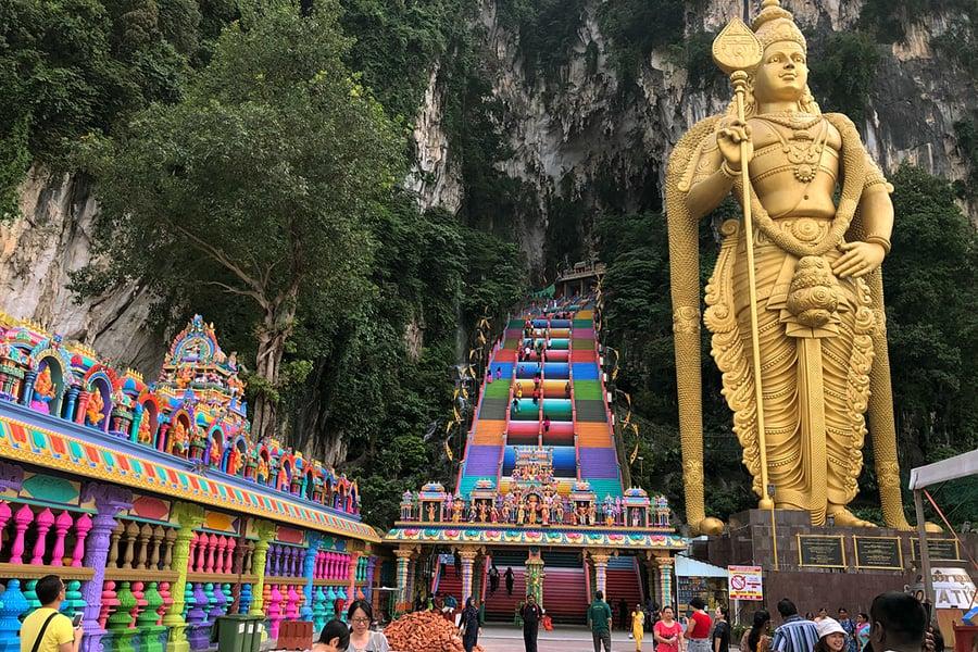 Imagen Cómo Llegar A Las Cuevas De Batu Batu Caves Kuala Lumpur 1