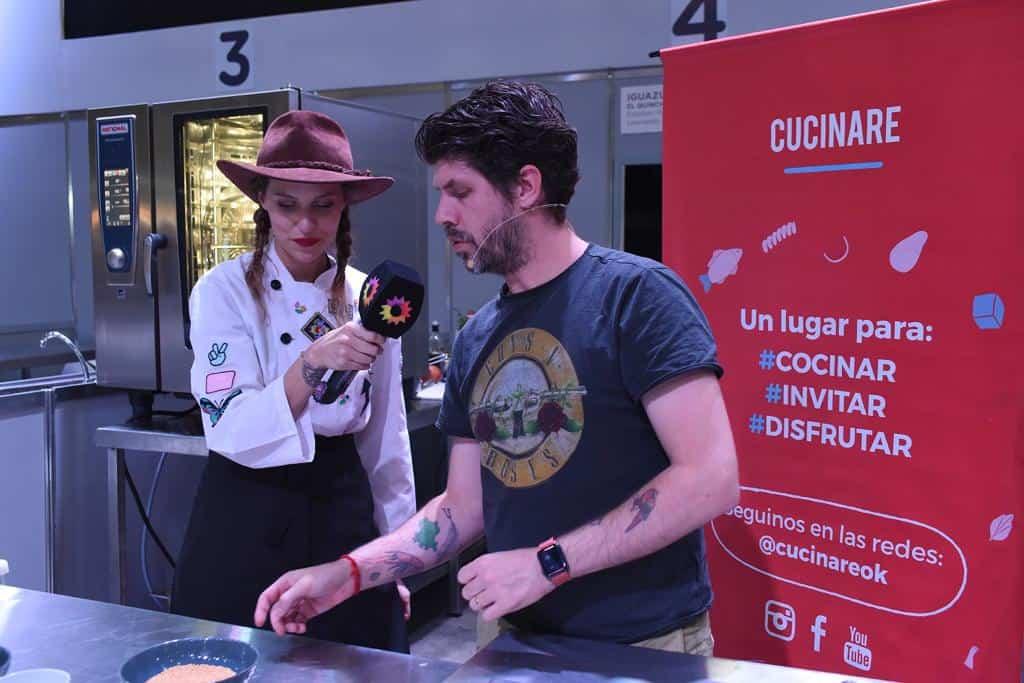 Paulo Airaudo y Cucinare TV