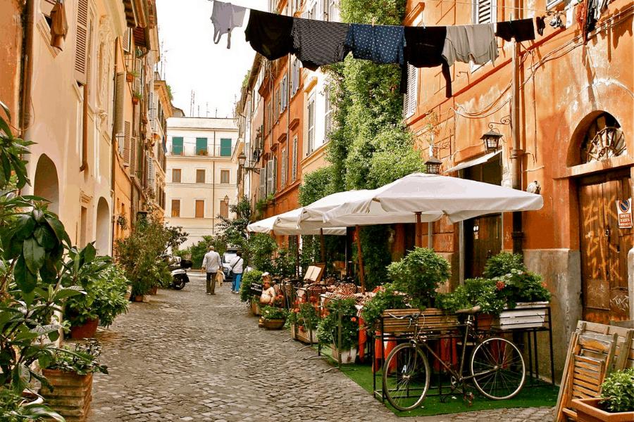 Que comer en Roma: Trastevere