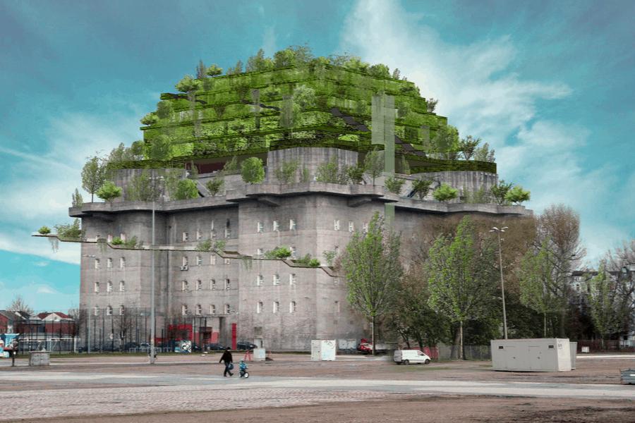 Esta compañía hotelera abrirá un hotel encima de un búnker construido durante el nazismo en Hamburgo, Alemania