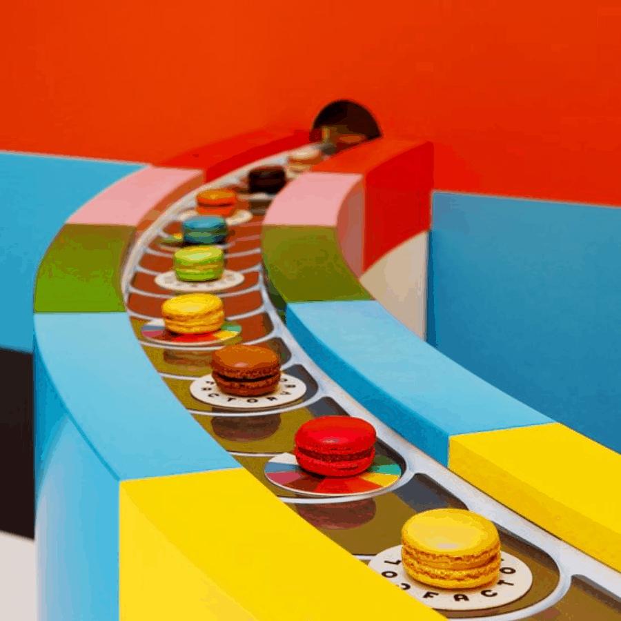 Así luce Color Factory por dentro: imágenes de una exhibición de colores Pantone en Nueva York