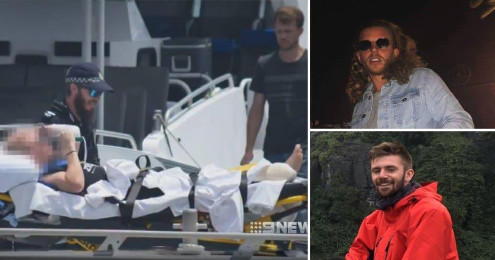Los mochileros que fueron mordidos por un tiburón deben 130.000 dólares al hospital por los tratamientos recibidos