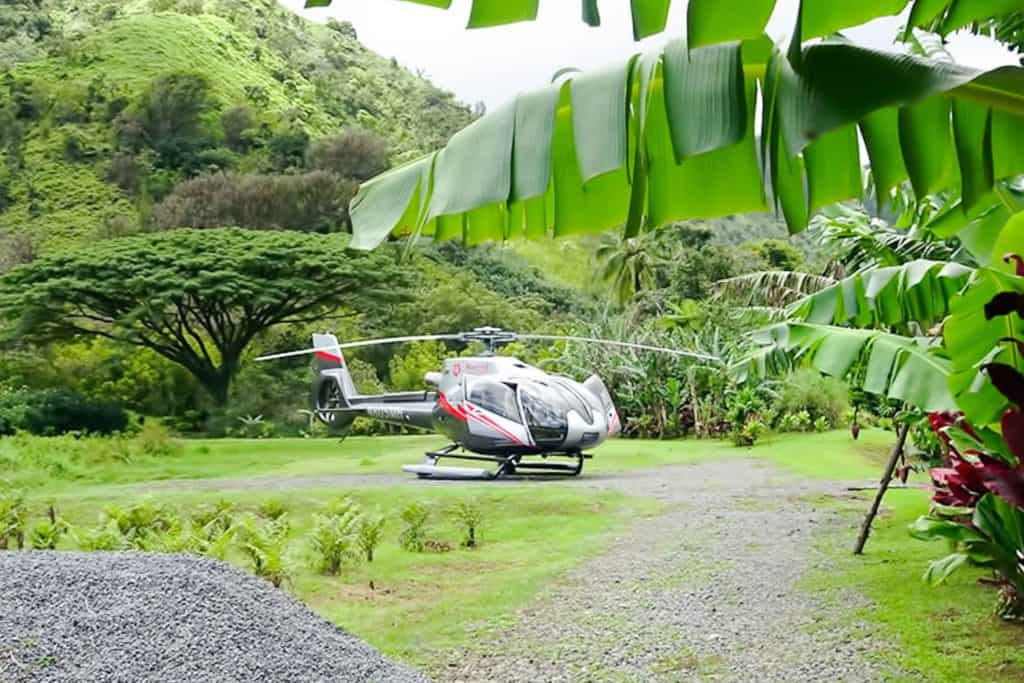 imagen maui 75 minute hana rainforest helicopter tour 528266