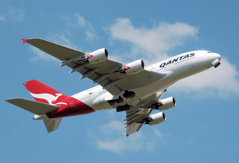 Imagen Qantas A380 Vh Oqa Takeoff Heathrow Arp
