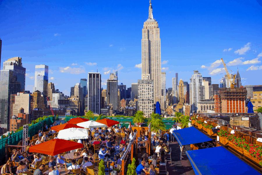 bares en azoteas de nueva york