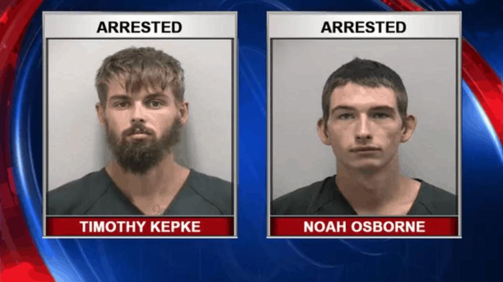 Dos hombres fueron arrestados después de que intentaran emborrachar a un caimán