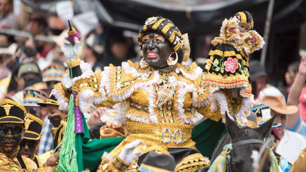 La Mama Negra en Ecuador: un festival único lleno de colores, música y tradición