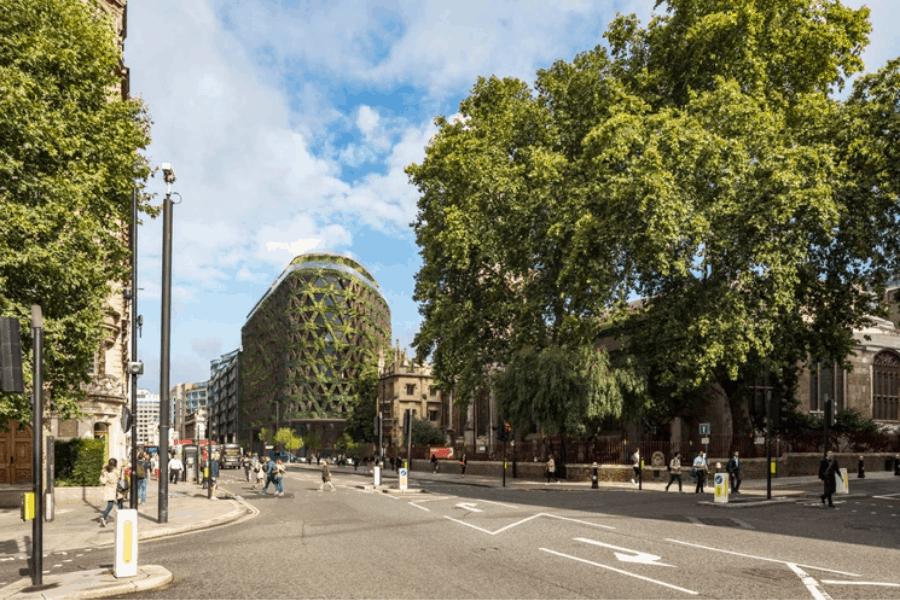 Londres: Diseñarán un hotel con más de 400 mil plantas en su fachada para ayudar a reducir la contaminación