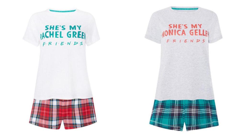 """Venden pijamas de Mónica y Rachel de """"Friends"""" para usarlos con tu mejor amiga"""