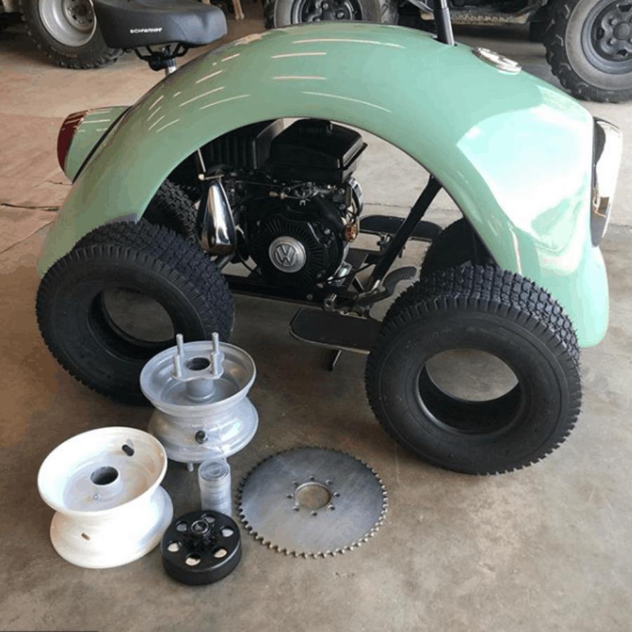 Conoce a 'Volkspod': Una tierna minibike inspirada en el escarabajo Volkswagen Beetle