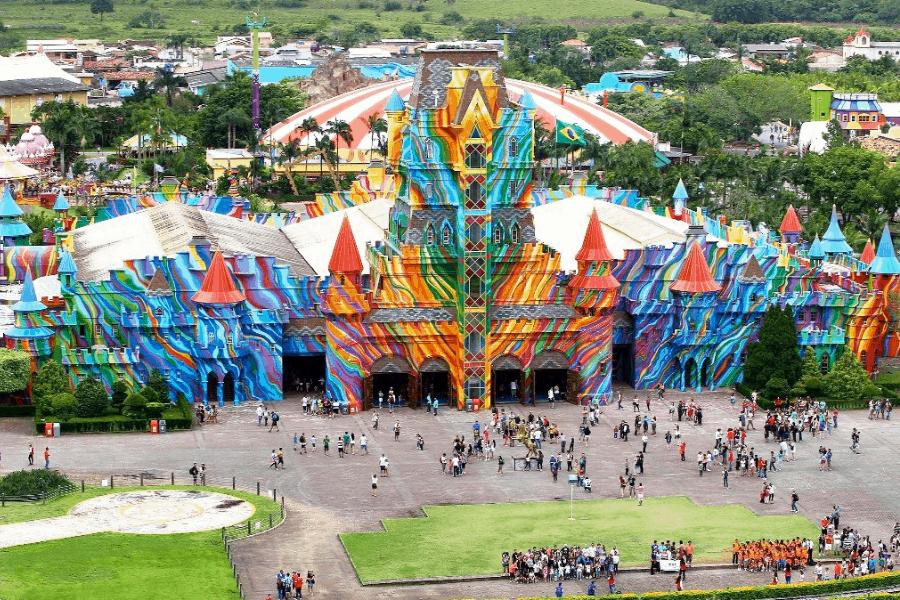 Conoce Beto Carrero World, el mayor parque de atracciones de América Latina que puedes encontrar en Brasil