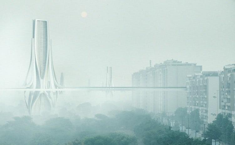 Instalaron purificadores de aire en el Taj Mahal para combatir la extrema contaminación del aire