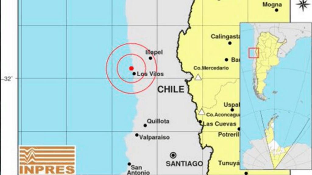 Sismo magnitud 6.1 sacudió el centro de Chile y llegó a sentirse en Argentina