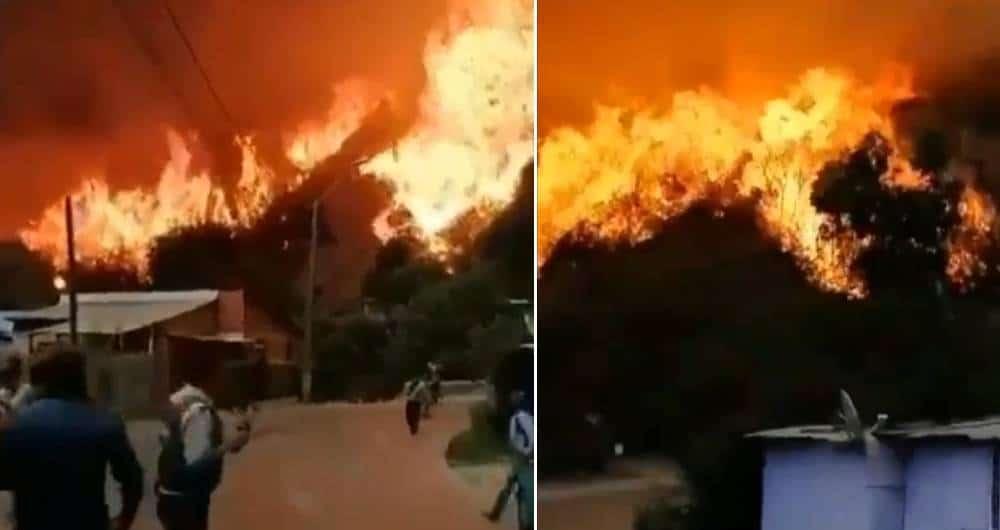 [Chile] Incendio intencional en Valparaíso destruyó 250 hogares
