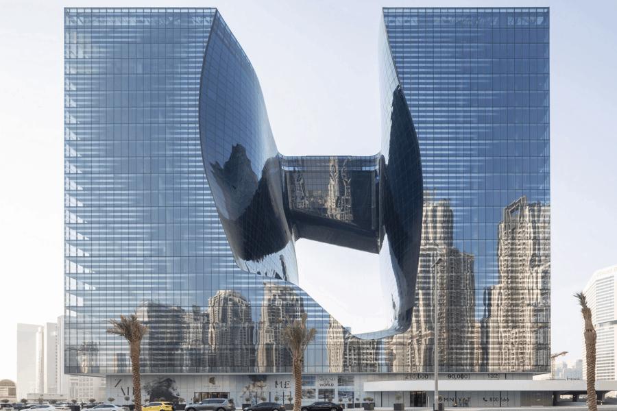 Conoce al 'Opus', un nuevo e imponente hotel que abrirá en Dubái en 2020