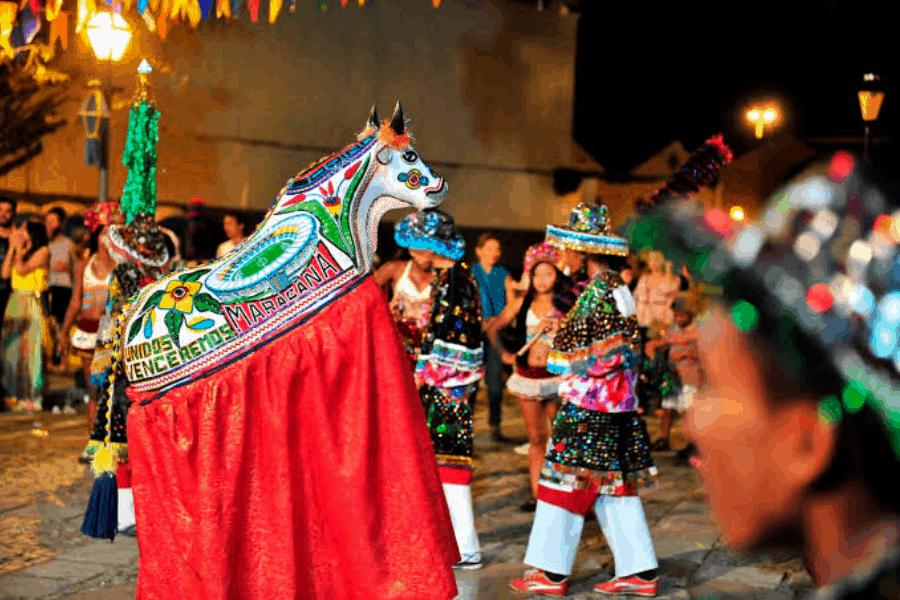 El tradicional festejo Bumba Meu Boi en Brasil fue reconocido Patrimonio Cultural de la Humanidad por la UNESCO