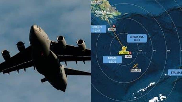 Avión de la fuerza aérea chilena desapareció con 38 personas viajaban abordo