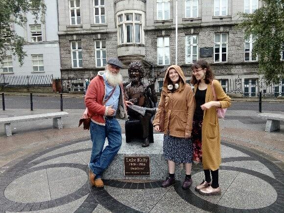 Los 'homeless' de Dublín se convirtieron en guías turísticos para mostrar el 'otro lado' de la ciudad
