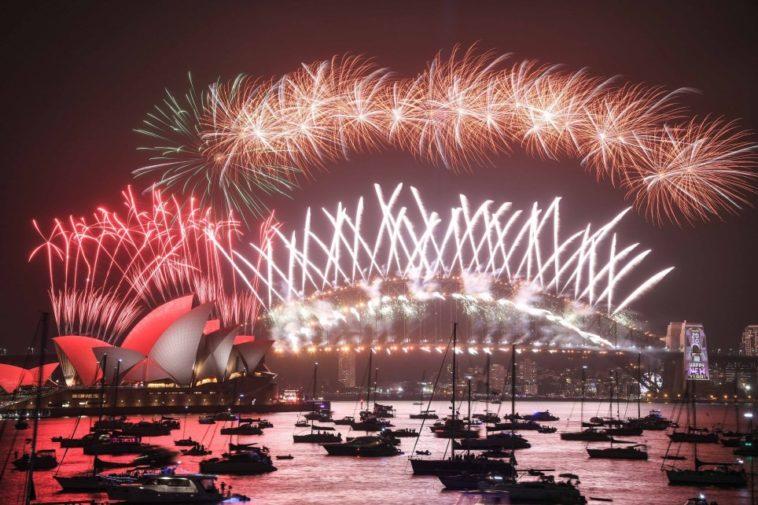 No más pirotecnia: Shanghái recibió el Año Nuevo con un impresionante show de drones luminosos