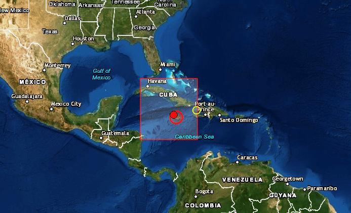 Un terremoto de magnitud 7,7 pone en alerta a Cuba y Jamaica y hay amenaza de tsunami