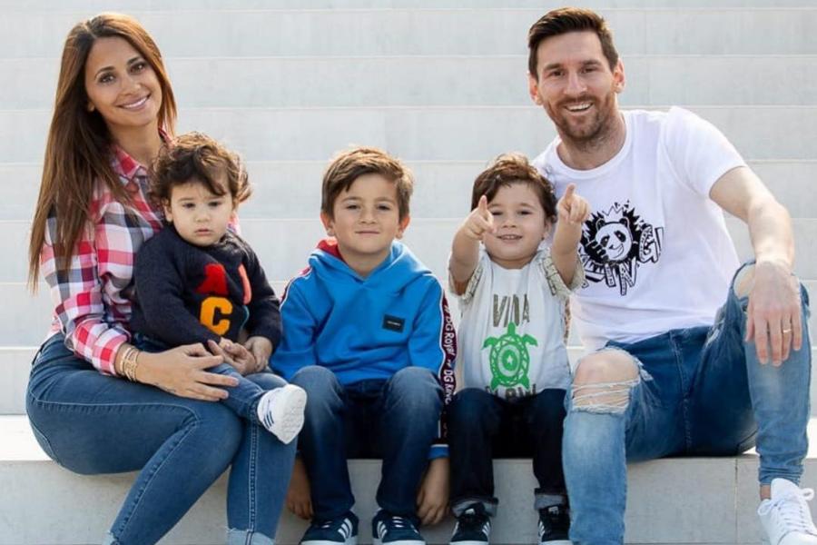 Cómo Se Llaman Los Hijos De Messi