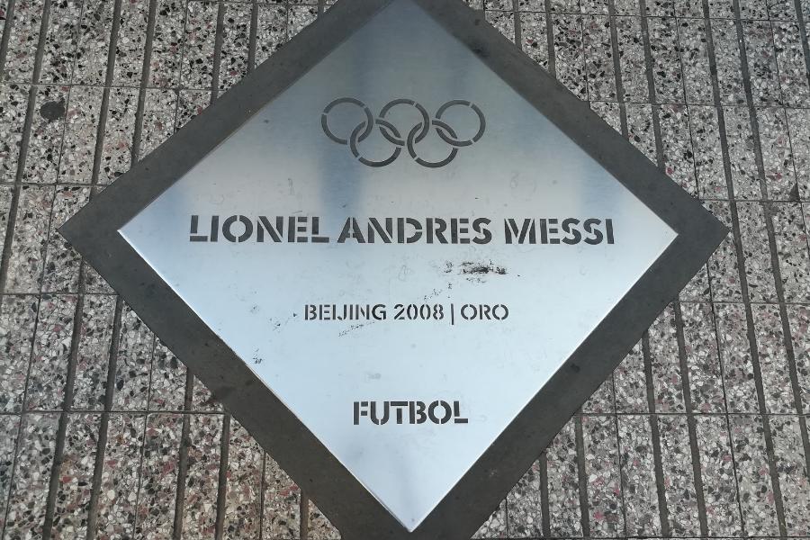 Messi Juegos Olímpicos De Beijing