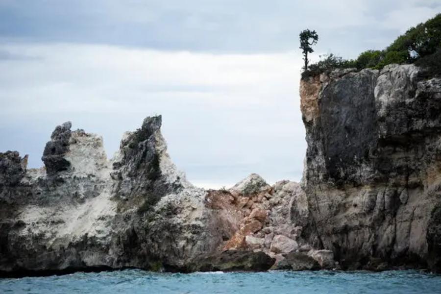 Terremoto en Puerto Rico: Se derrumbó Punta Ventana, el icónico atractivo turístico y natural de Guayanilla