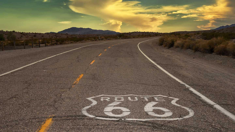 North_America_-_USA_-_Route_66_Shot