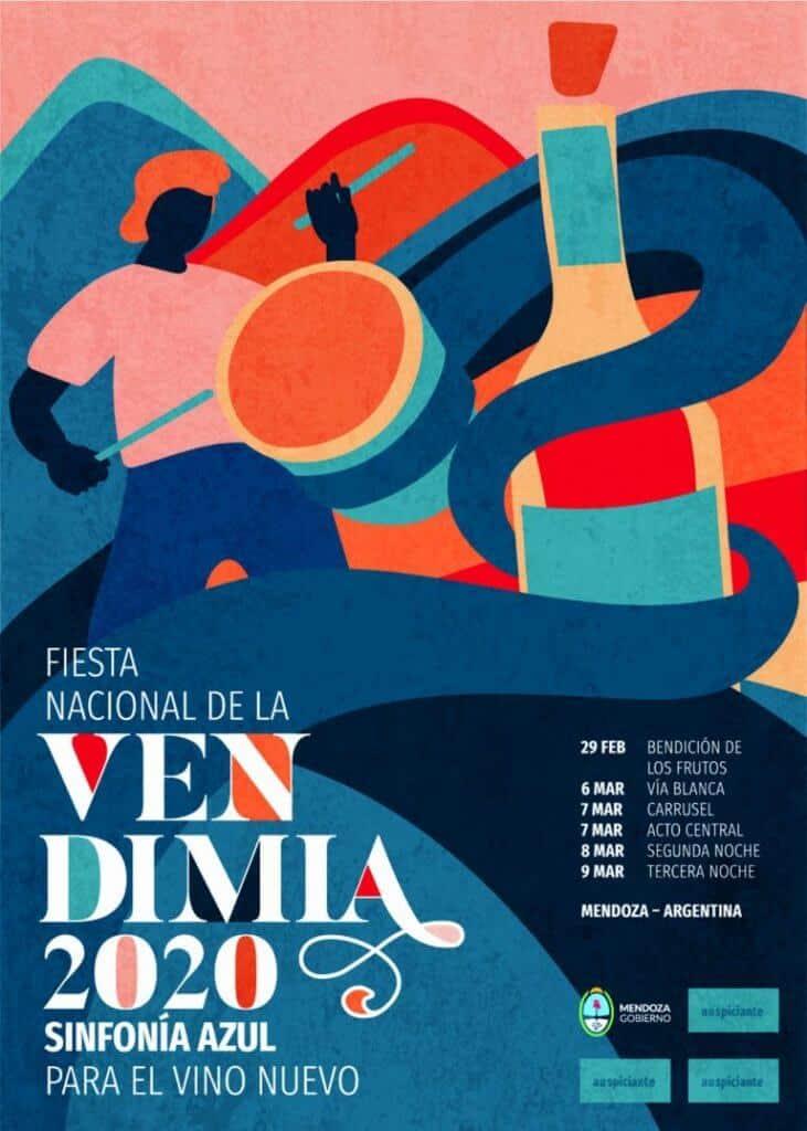 imagen Afiches FIESTA NACIONAL DE LA VENDIMIA